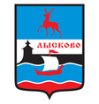Lyskovo Coat-of-Arms vector image vector image