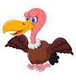 cute Vulture cartoon vector image