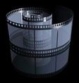 Filmstrip Vector Image