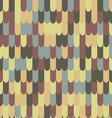 Abstract seamless roof tile pattern vector image