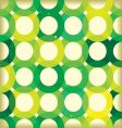 circle link green background vector image