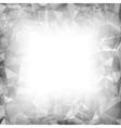 Grey Polygonal Background vector image