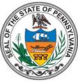 Pennsylvania seal vector image vector image