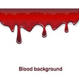 red blood flowing background vector image vector image