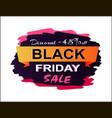 discount 45 black friday sale vector image