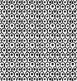 Black marker drawn simple dragon skin with dots vector image vector image