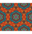 Abstract ethnic geometric pattern design vector image