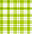 Seamless checkered tablecloth vector image