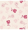 Seamless delicate pattern with roses vector image