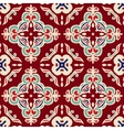 christmas seamless pattern tiled vector image vector image