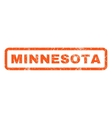 Minnesota Rubber Stamp vector image
