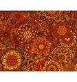 flower paisley seamless ethnic pattern vector image