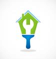 house work maintenance logo vector image