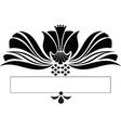 scroll design vector image vector image