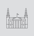 Leeds vector image