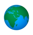 abstract global world vector image