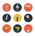 set tool construction icon design vector image