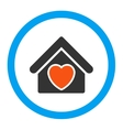 Hospice Rounded Icon vector image