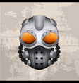 Gas mask vector image