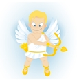 funny cartoon Cupidon vector image