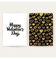 Happy Valentines Day Trendy Posters vector image