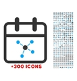 Scheme Day Icon vector image