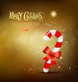 candy cane vector image