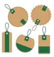 Labels Set Discounts and sale vector image