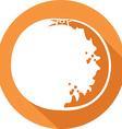 Orange Fruit Icon vector image vector image