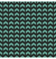 Tile pattern with blue or mint green zig zag print vector image