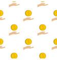 coin logo flat style vector image