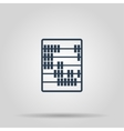 Abacus Icon concept for vector image