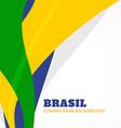 brazil summer games vector image