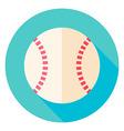 Baseball Ball Circle Icon vector image