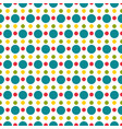 colored polka dot seamless pattern vector image