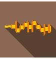 Crankshaft icon flat style vector image