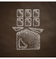 chocolate icon vector image