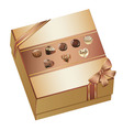 Box of Chocolates vector image vector image
