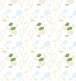 Seamless pattern handdrawing vector image