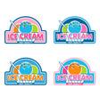 Ice Cream Logo vector image