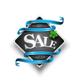 Christmas sales banner vector image