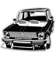 Custom car vector image