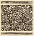antique style seamless border vector image