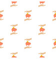 Money box pattern flat vector image
