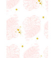 seamless pattern with polka dots of rose vector image