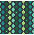 Seamless azteck colorful pattern with arrow vector image vector image