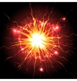 Explosion in the sky vector image