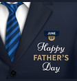 happy fathers day greeting vector image