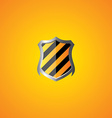 protection shield theme vector image
