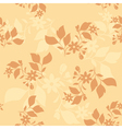 light beige seamless pattern vector image vector image